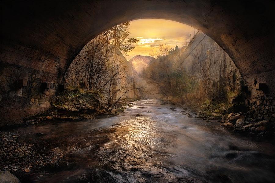 Sota un pont de fredes aigües