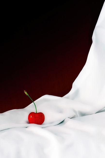 Rojo sobre blanco
