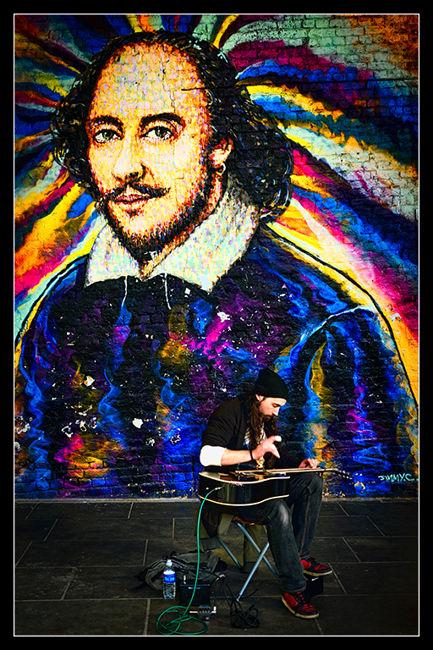 Shakespeare i el músic carrer