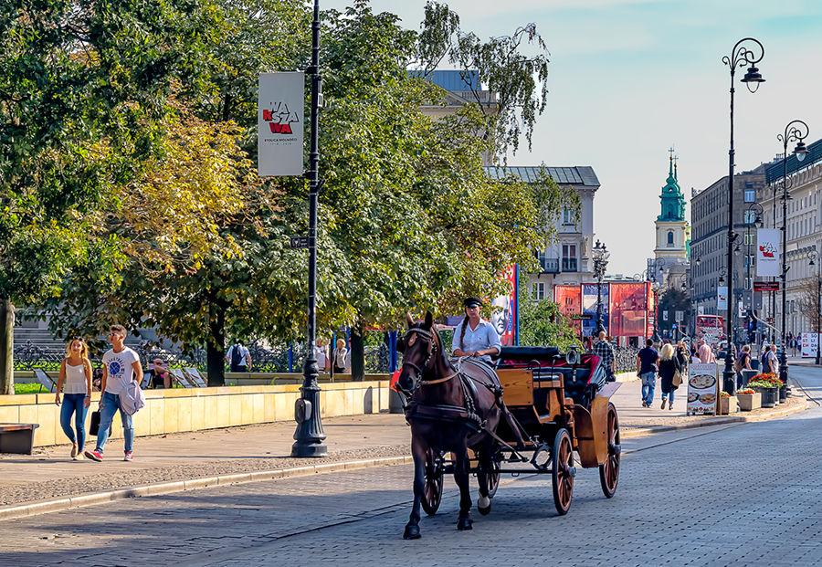 Passejant per Varsovia
