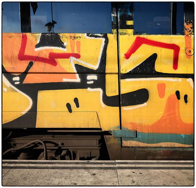 El món del tren i els grafitis