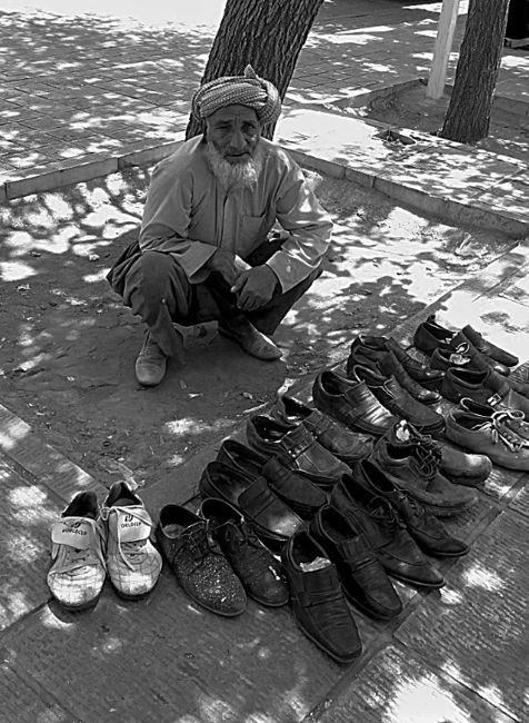 Vendedor en Teherán