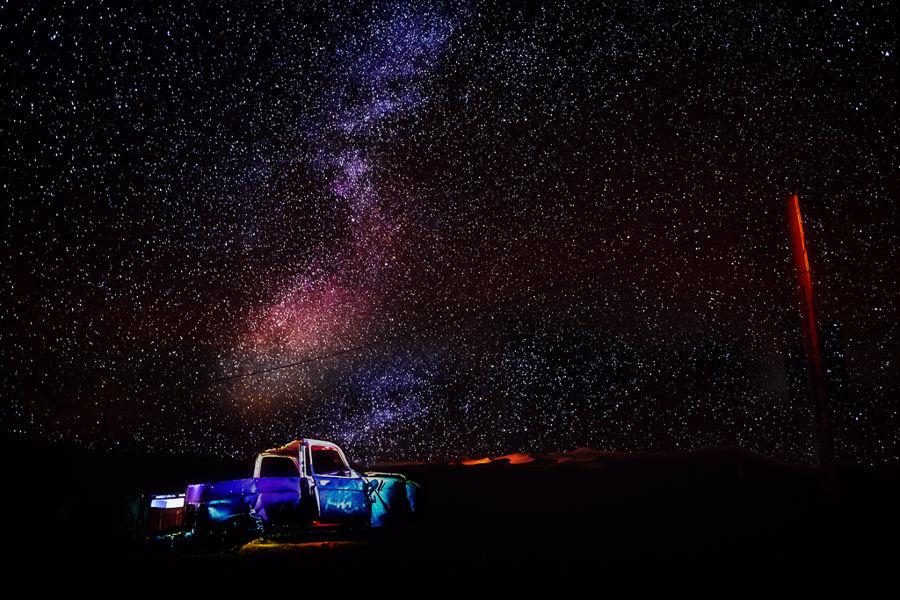 Vía Láctea Merzouga
