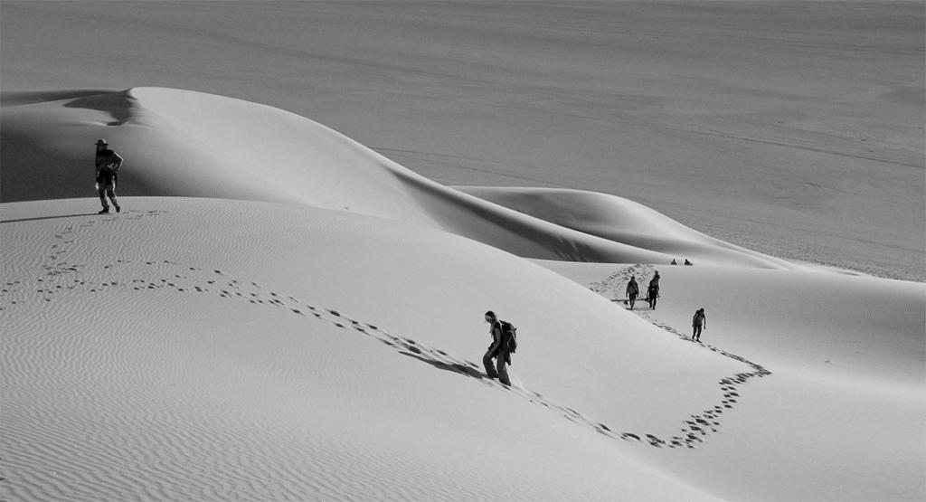 El desierto Tuareg