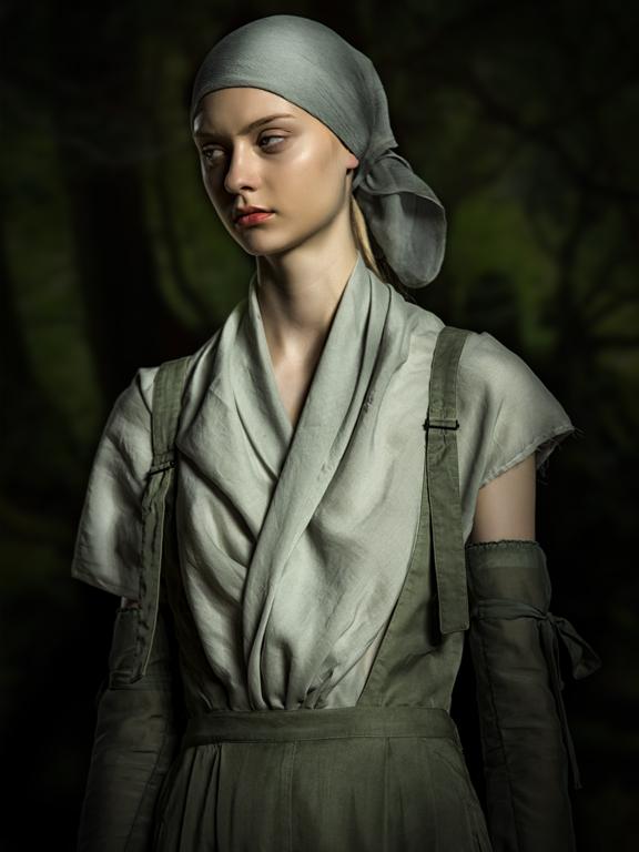 La noia del bosc