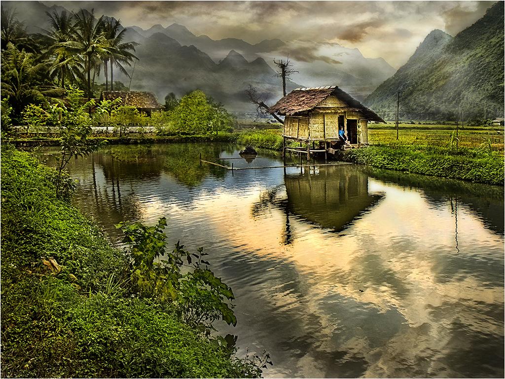Paisatge vietnamitaPaisatge vietnamita