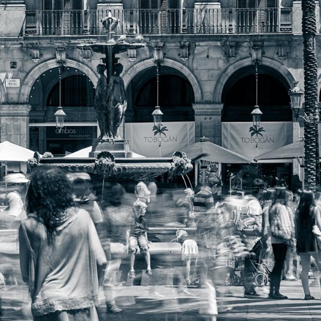 Barcelona quotidianetat etèrea