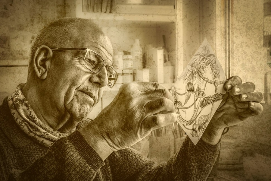 L'artista i la seva obra