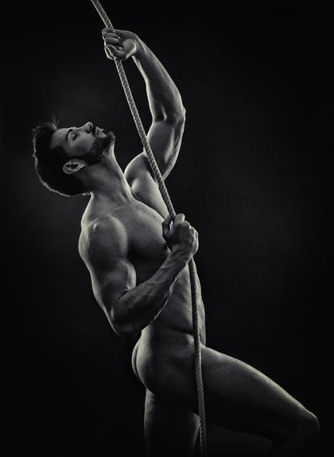 Agafat a la corda -5