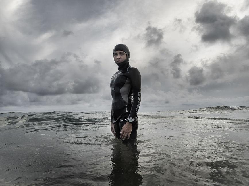 Gemma en el mar