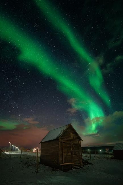 Cabana i aurora