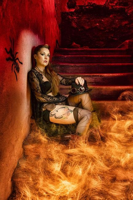 Steampunk hell