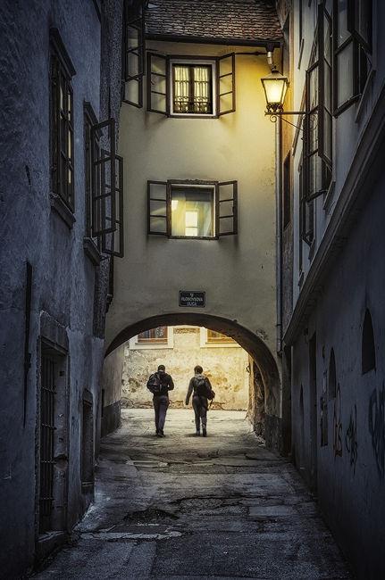 Nocturna en Skofja Loka