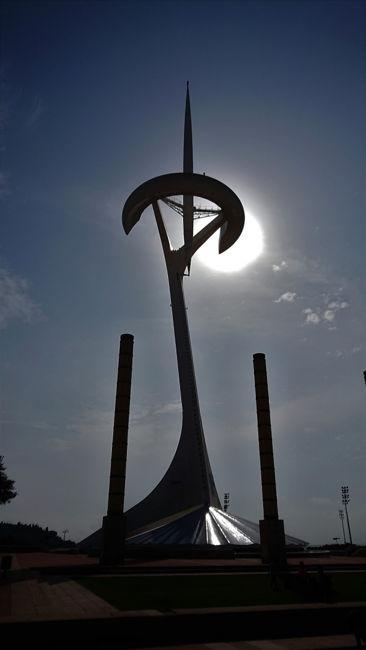 Unió de la torre olímplica i el sol.