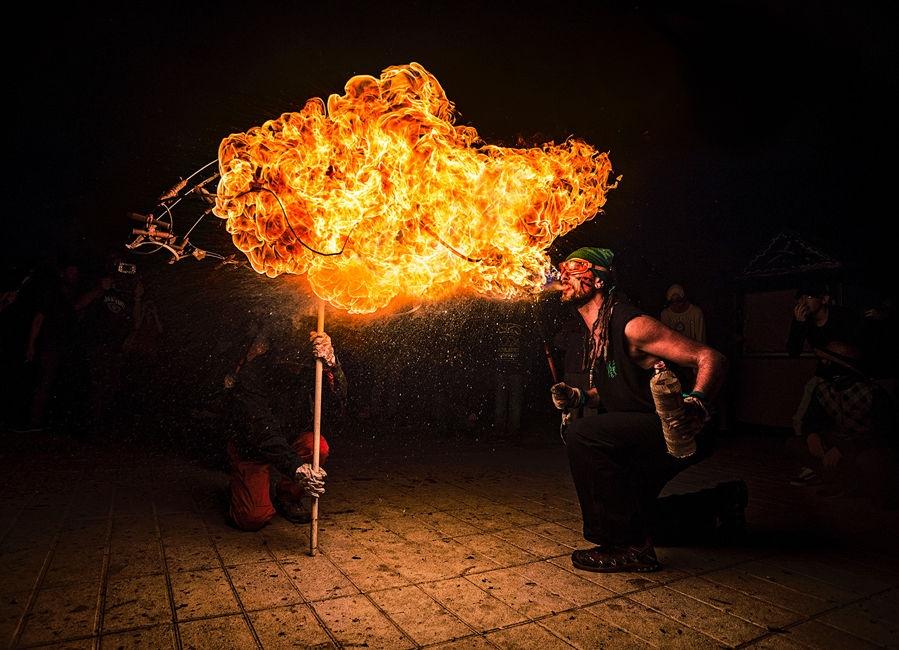 Bufarada de foc