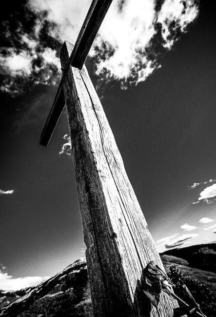 Creu de fustaCreu de fusta