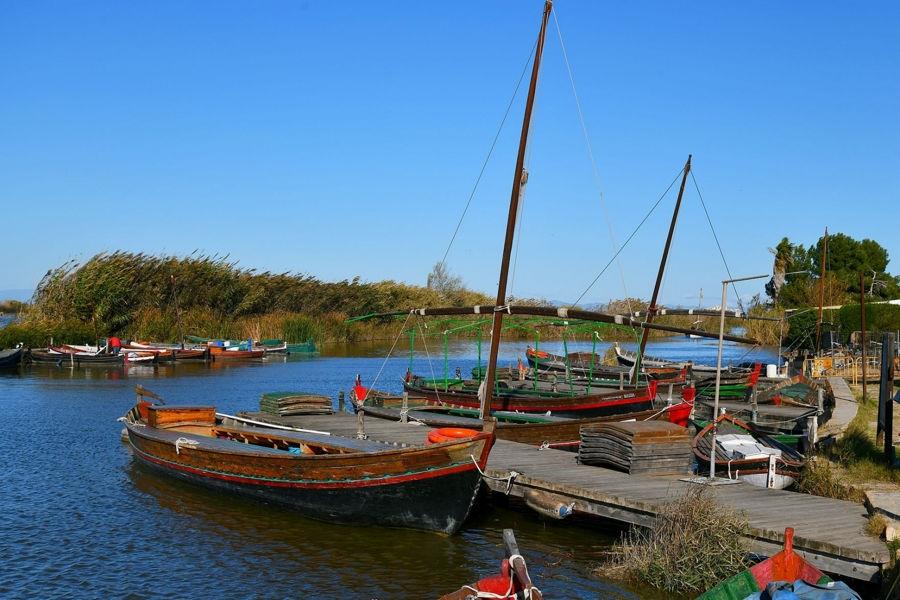 Barques a l'Albufera
