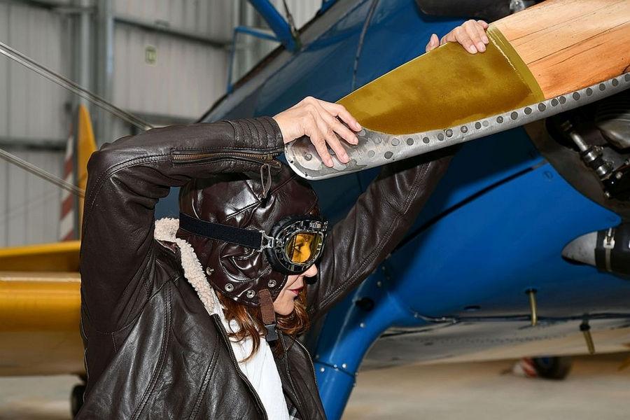 Amelia Earhart?