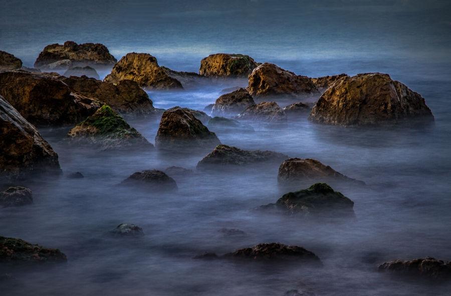 El bany de les roques
