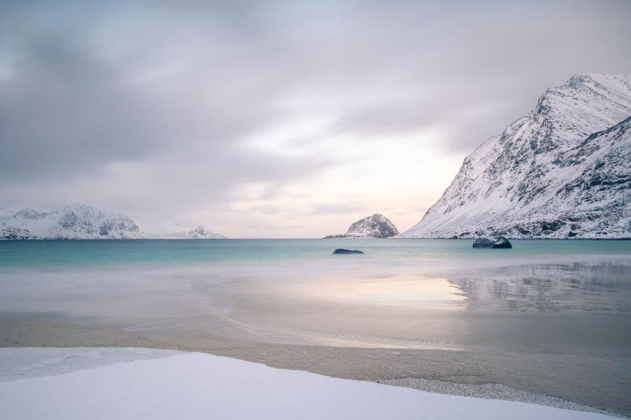 Paisatge de gel