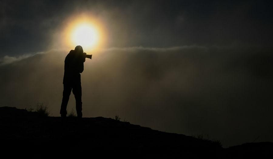 Fotografiant la boira
