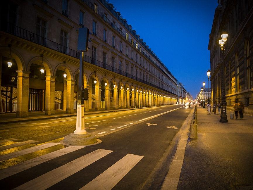 Una calle de Paris