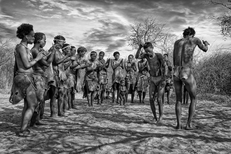 Baile ritual Bosquimano