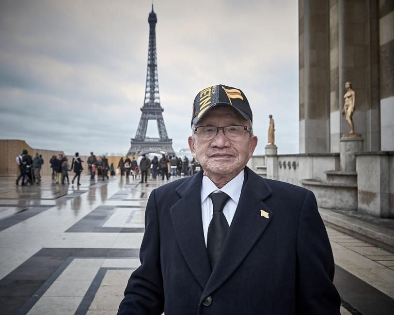Manifestacio en Paris 2