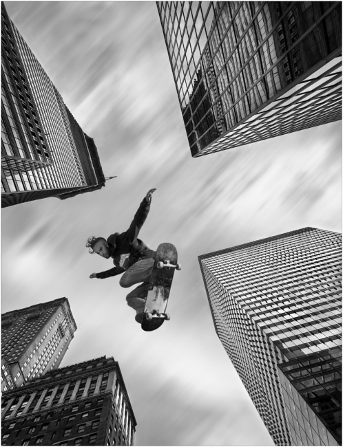 El saltador