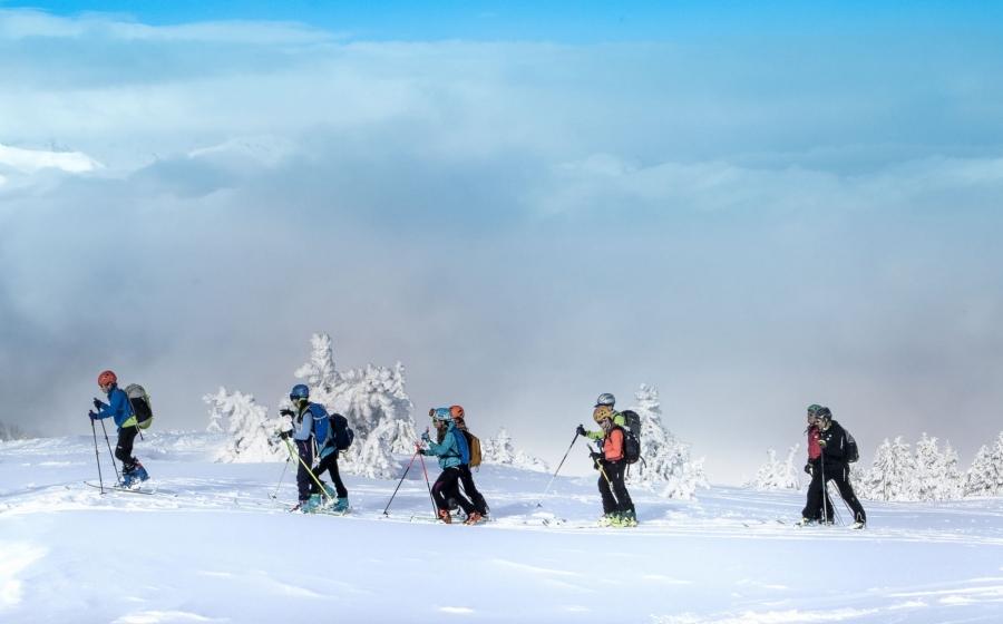 Travessia per la neu