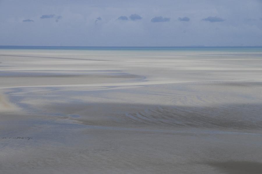 textures de la marea baixa