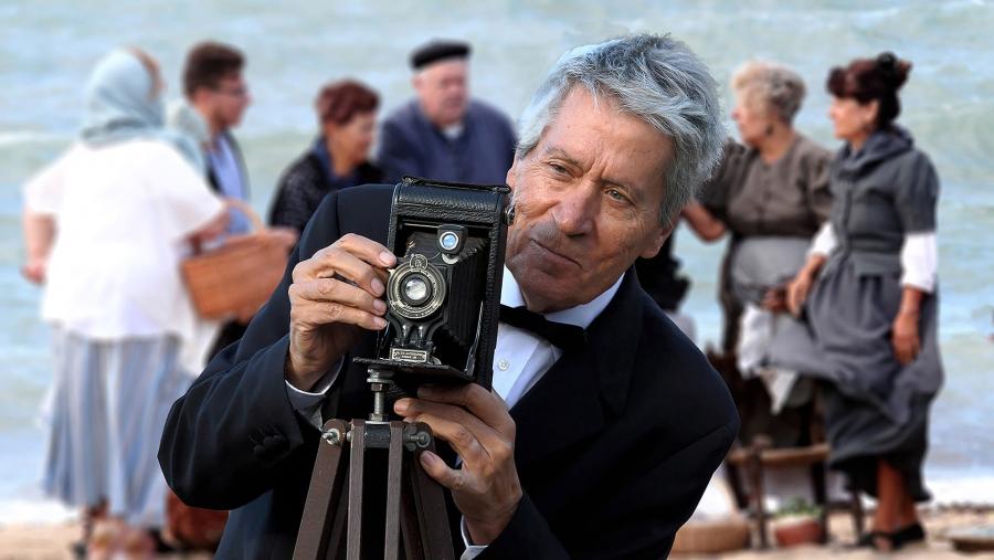 El vell fotograf de l'Escala