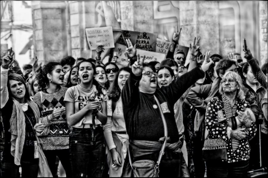 Manifestacio femenina