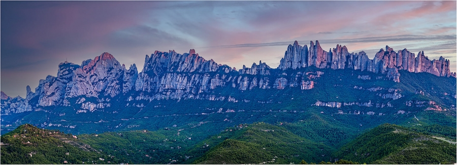 panoràmica Montserrat