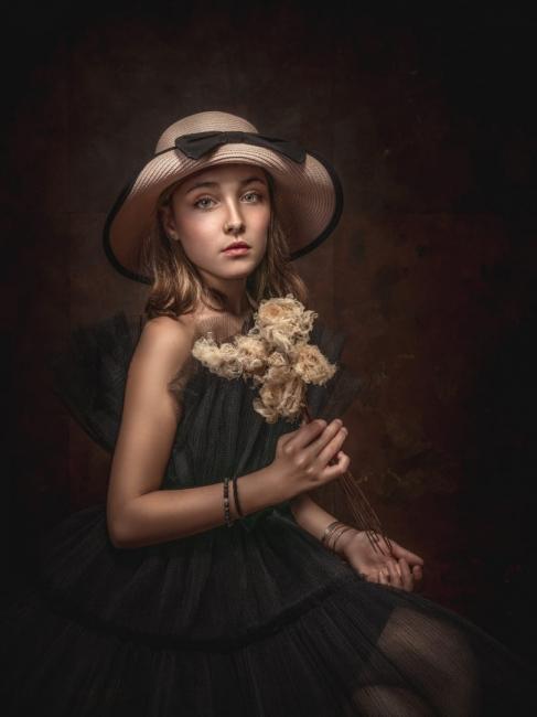 Petite fleur fanee