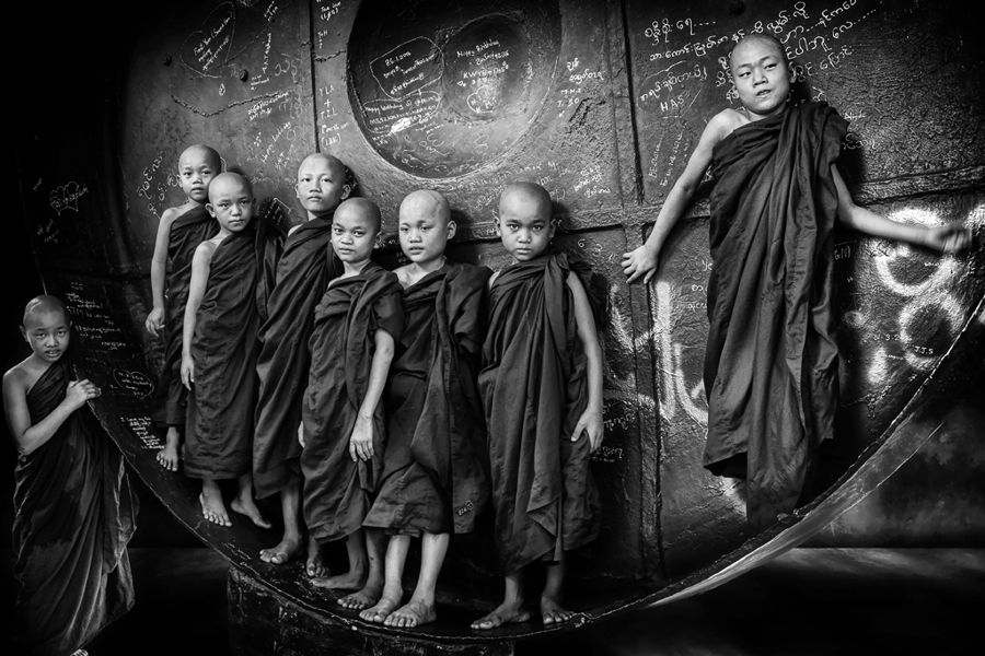 Nens budistes