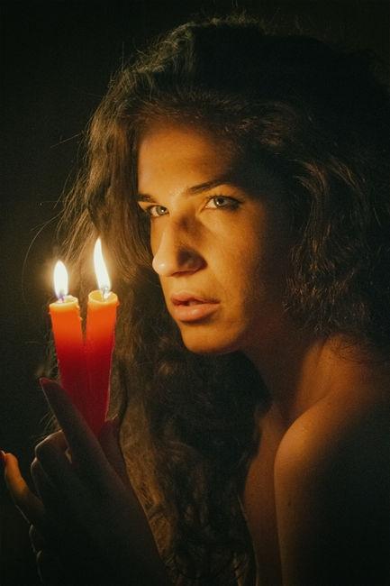 A dos velas
