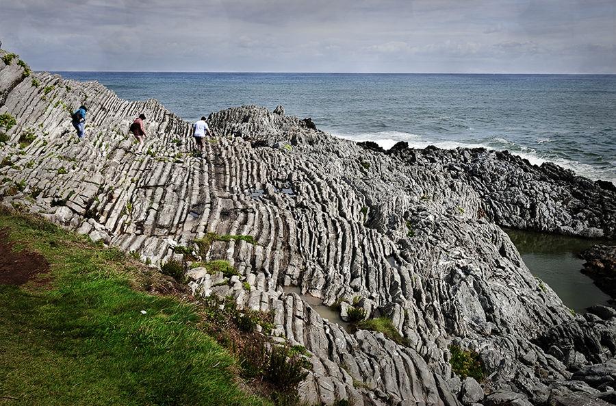 Caminando sobre las rocas