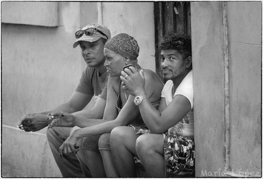 Conversando en la Habana