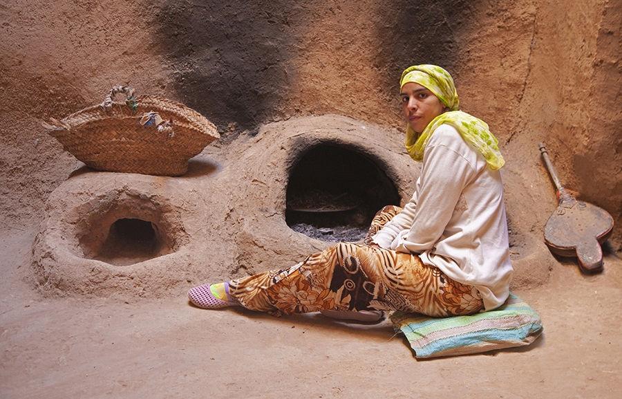 Cuina a El Khorbat. (Marroc).