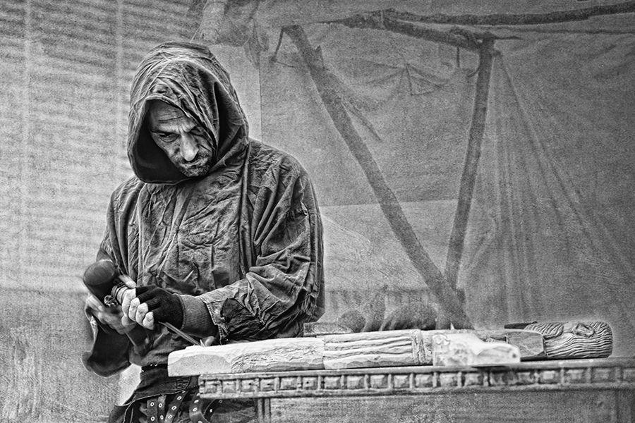 Modelant la fusta