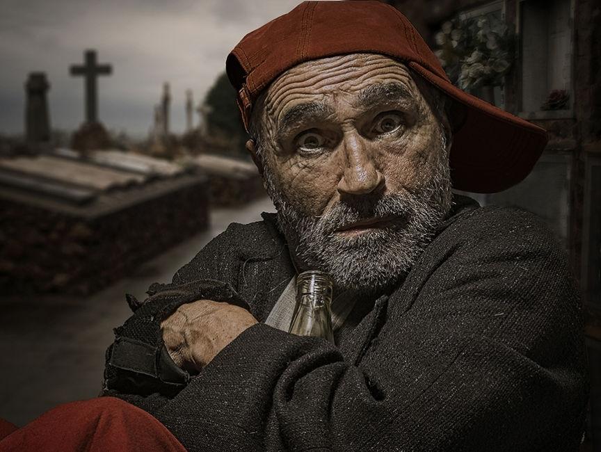 homeless cementerio