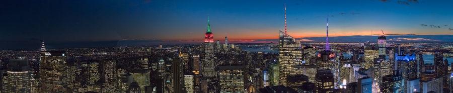 New York Panoramica UltraPanoramica de 19 fotos.