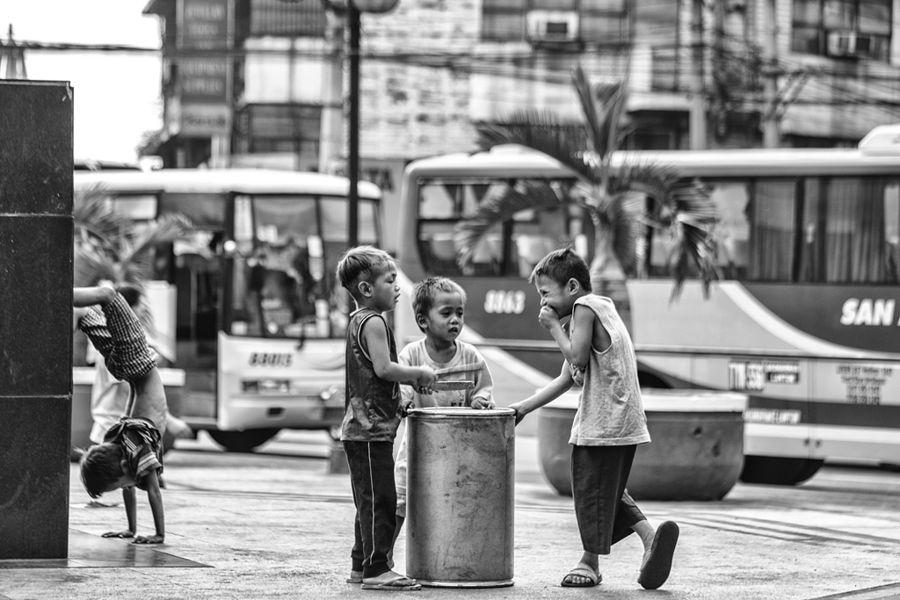 Jeux d enfants de Manille