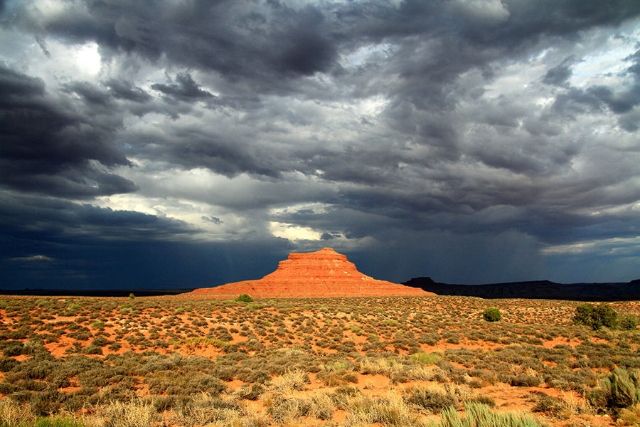 Storm in the Valley of the Gods