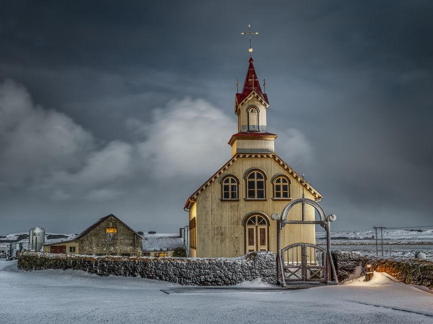 Iglesia en la Nieve
