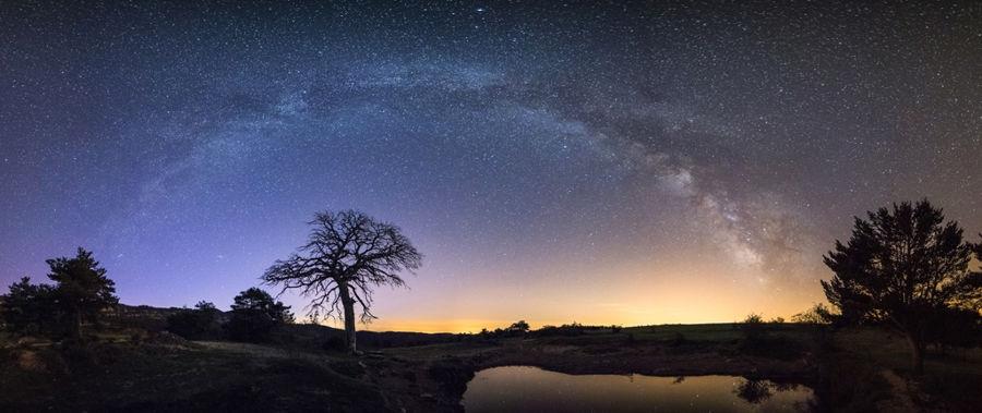 Arc galactic