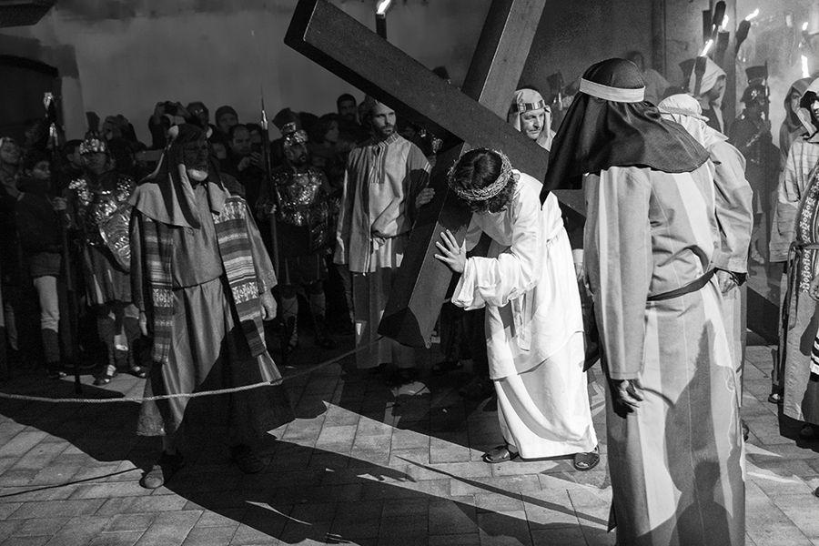 Portant la Creu