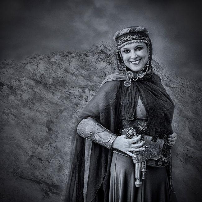 Dama del desert