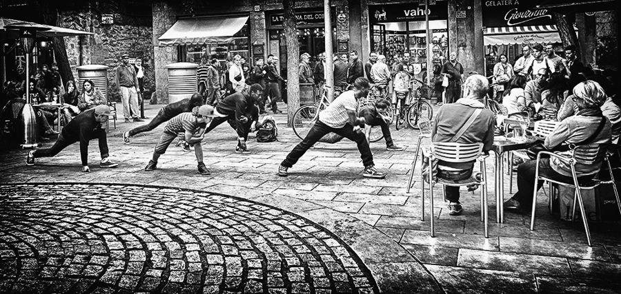 dança al carrer